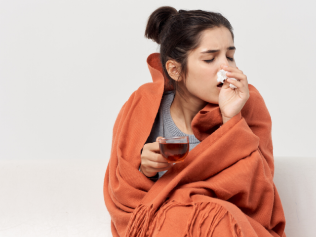 Colds Flu Sick Women Rooibos Cup of Tea Winter